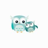 Nettes Owl Vector Design Illustration Lizenzfreie Stockfotografie