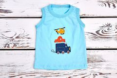 Nettes T-Shirt des Babys Baumwoll Stockbilder