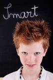 Nettes und intelligentes Kind lizenzfreie stockfotografie