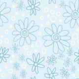 Nettes und modisches Blumenmuster mit Tulpen, Mohnblumenblumen und Beeren Lizenzfreie Stockfotos