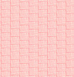 Netting abstract grungy pattern. Seamless gentle c. Hequered background. Rose decorative doodle checkered texture Royalty Free Stock Images