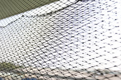Netting for fish trap. Nets used for fishing & fish trap Royalty Free Stock Photo