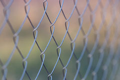 Netting metal fence Stock Photos