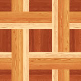 Netting Parquet Seamless Floor Pattern Stock Photography