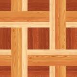 Netting Parquet Seamless Floor Pattern Stock Photography