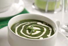Nettle soup Stock Photography