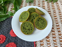Nettles green cookies Stock Photo