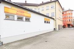 Netto back view Stock Images