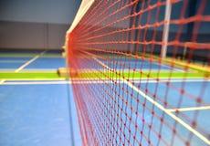 Netto badminton Royalty-vrije Stock Afbeeldingen