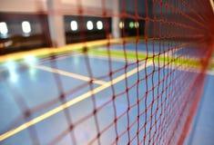 Netto badminton royalty-vrije stock foto's