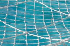 Netto boven de oceaan stock foto's