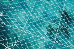 Netto boven de oceaan royalty-vrije stock afbeelding