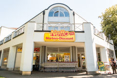 Netto City Royalty Free Stock Images