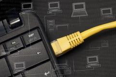 Netto-conexion Lizenzfreies Stockfoto