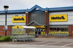 Netto discount store Stock Image