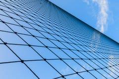 Netto en blauwe hemel, textuur van netto Stock Afbeelding