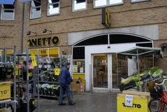 NETTO FOOD CHAIN MARKET Stock Photo