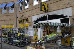 NETTO FOOD CHAIN MARKET Royalty Free Stock Image