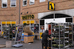 NETTO FOOD CHAIN MARKET Stock Photography