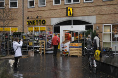 NETTO FOOD MARKET Stock Image