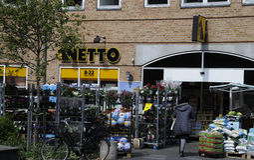 NETTO FOOD MARKET Stock Photography