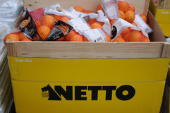 NETTO FOOD MARKET Royalty Free Stock Photography
