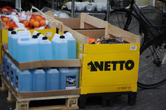 NETTO FOOD MARKET Stock Photography