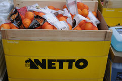 NETTO FOOD MARKET Stock Images