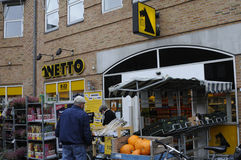NETTO FOOD STORE Stock Photography