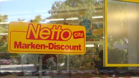 Netto stock video