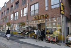 NETTO GOCER sieć domów towarowych Zdjęcie Stock
