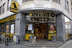 NETTO GOCER sieć domów towarowych Zdjęcia Stock