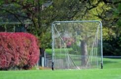 Netto het doel van de lacrosse royalty-vrije stock afbeelding