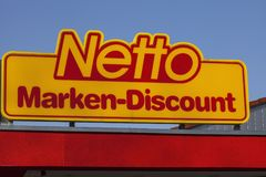Netto logo arkivbild