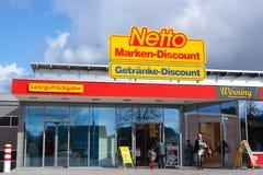 Netto Marken-Discount supermarket Royalty Free Stock Photo