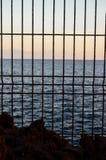 Netto over de Atlantische Oceaan Royalty-vrije Stock Foto
