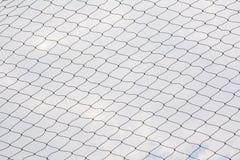 Netto patroon Kabel netto silhouet Voetbal en voetbal netto geklets royalty-vrije stock fotografie