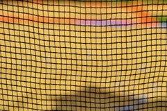 Netto patroon met gele achtergrond voor behang of achtergrond royalty-vrije stock foto's