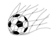 netto piłki piłka nożna ilustracja wektor