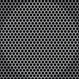 Netto seamless textur för metall Royaltyfria Bilder