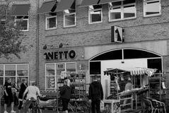 Netto sklep spożywczy Obraz Royalty Free