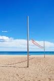 Netto strandvolleyball Stock Afbeeldingen