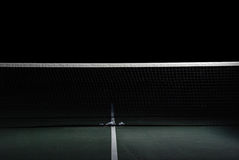 Netto tennis royalty-vrije stock foto