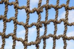 Netto van kabels royalty-vrije stock afbeelding