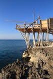 Netto visserijstructuur royalty-vrije stock afbeelding