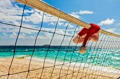 Netto volleyball Royalty-vrije Stock Afbeeldingen