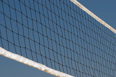 Netto volleyball Royalty-vrije Stock Afbeelding