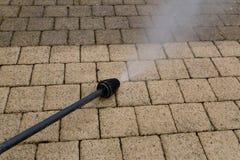 Nettoyage à haute pression photos libres de droits