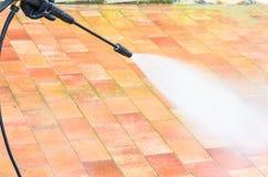 Nettoyage à haute pression Images stock