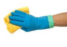 Nettoyage à la maison Photographie stock libre de droits